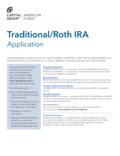 Traditional Roth Ira Application